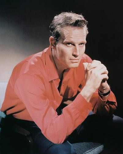 This is an image of 242149 Charlton Heston Photograph & Poster