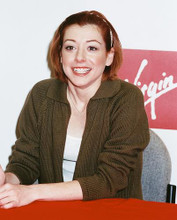 This is an image of 242566 Alyson Hannigan Photograph & Poster