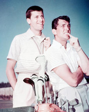 This is an image of 243728 Dean Martin & Jerry Lewis Photograph & Poster