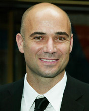 This is an image of 255832 Andre Agassi Photograph & Poster