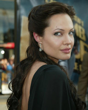 This is an image of 255958 Angelina Jolie Photograph & Poster