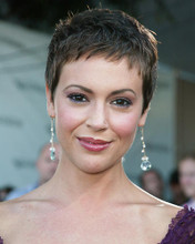 This is an image of 256214 Alyssa Milano Photograph & Poster