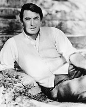 This is an image of 170325 Gregory Peck Photograph & Poster