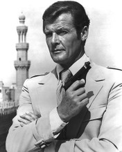 This is an image of 173055 Roger Moore Photograph & Poster