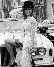 This is an image of 173347 Joanna Lumley Photograph & Poster