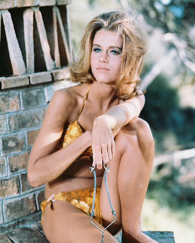 This is an image of 243345 Jane Fonda Photograph & Poster