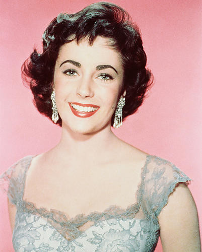 This is an image of 243487 Elizabeth Taylor Photograph & Poster