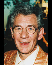 This is an image of 244528 Ian McKellen Photograph & Poster
