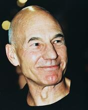 This is an image of 244615 Patrick Stewart Photograph & Poster