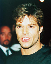 This is an image of 245609 Ricky Martin Photograph & Poster