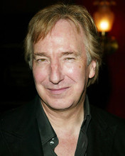 This is an image of 258040 Alan Rickman Photograph & Poster