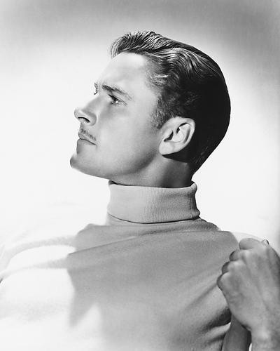 This is an image of 174485 Errol Flynn Photograph & Poster
