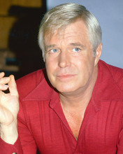 This is an image of 261320 George Peppard Photograph & Poster