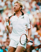 This is an image of 246706 Boris Becker Photograph & Poster