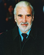 This is an image of 246986 Christopher Lee Photograph & Poster