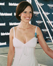 This is an image of 247110 Hilary Swank Photograph & Poster