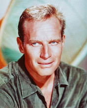 This is an image of 247371 Charlton Heston Photograph & Poster