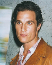 This is an image of 250323 Matthew McConaughey Photograph & Poster