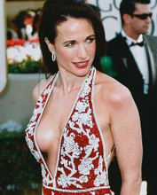 This is an image of 251443 Andie Macdowell Photograph & Poster