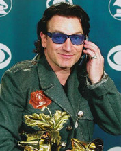 This is an image of 251865 Bono Photograph & Poster