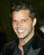 This is an image of 262813 Ricky Martin Photograph & Poster