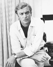 This is an image of 173683 Michael Caine Photograph & Poster
