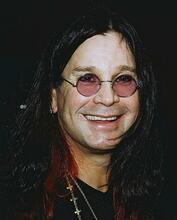This is an image of 253343 Ozzy Osbourne Photograph & Poster
