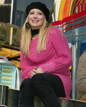 This is an image of 258987 Hilary Duff Photograph & Poster