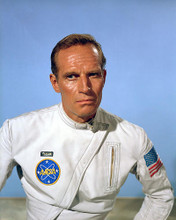 This is an image of 259031 Charlton Heston Photograph & Poster