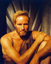 This is an image of 259032 Charlton Heston Photograph & Poster