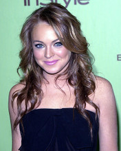 This is an image of 259071 Lindsay Lohan Photograph & Poster