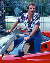 This is an image of 261387 Tom Selleck Photograph & Poster