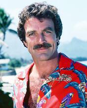 This is an image of 261389 Tom Selleck Photograph & Poster