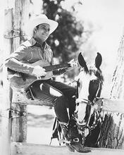 This is an image of 175323 Gene Autry Photograph & Poster