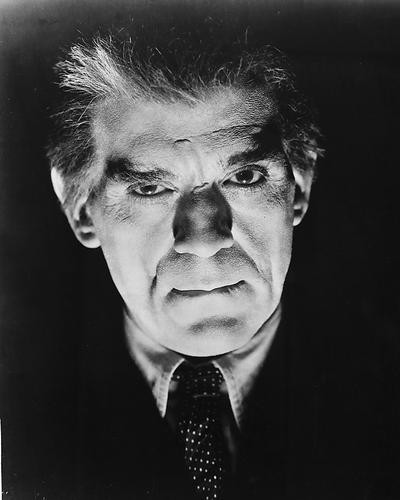 This is an image of 175435 Boris Karloff Photograph & Poster