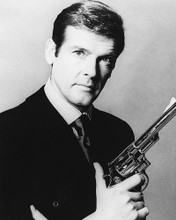 This is an image of 175512 Roger Moore Photograph & Poster