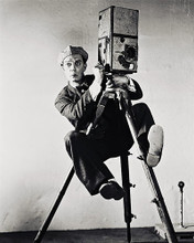 This is an image of 19824 Buster Keaton Photograph & Poster