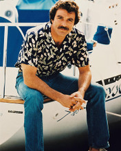 This is an image of 2152 Tom Selleck Photograph & Poster