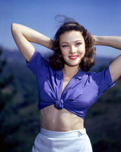 This is an image of 264148 Gene Tierney Photograph & Poster