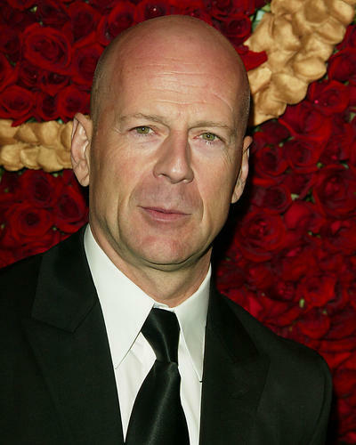 This is an image of 264442 Bruce Willis Photograph & Poster