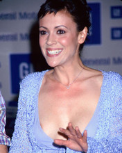 This is an image of 265304 Alyssa Milano Photograph & Poster