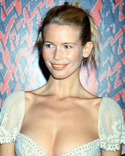 This is an image of 265363 Claudia Schiffer Photograph & Poster