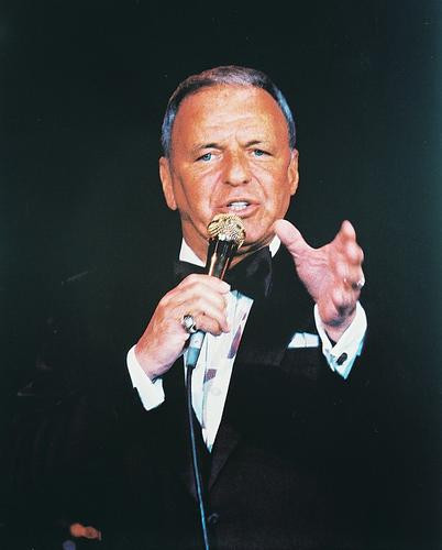 This is an image of 24379 Frank Sinatra Photograph & Poster