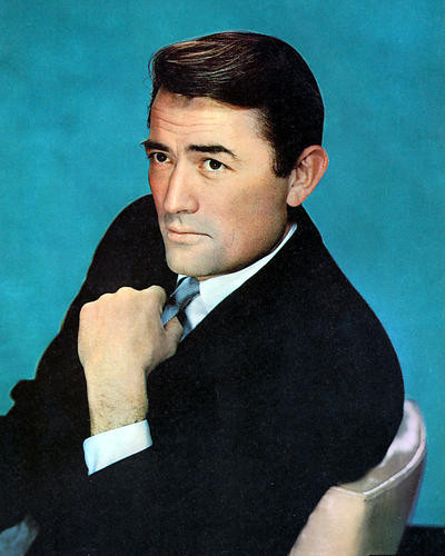 This is an image of 265637 Gregory Peck Photograph & Poster