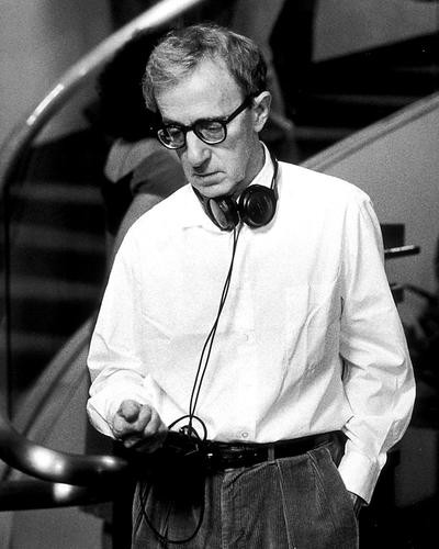This is an image of 269519 Woody Allen Photograph & Poster