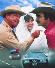 This is an image of 269860 Smokey and the Bandit Photograph & Poster