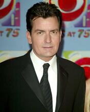 This is an image of 271790 Charlie Sheen Photograph & Poster