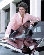 This is an image of 274590 David Hasselhoff Photograph & Poster