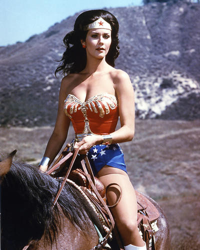 This is an image of 275576 Lynda Carter Photograph & Poster