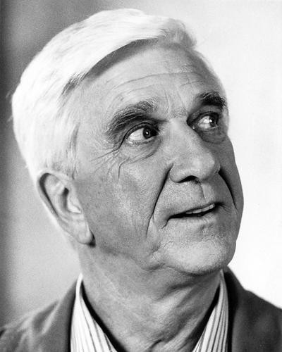 This is an image of 188832 Leslie Nielsen Photograph & Poster